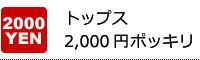 トップス2,000円ポッキリ