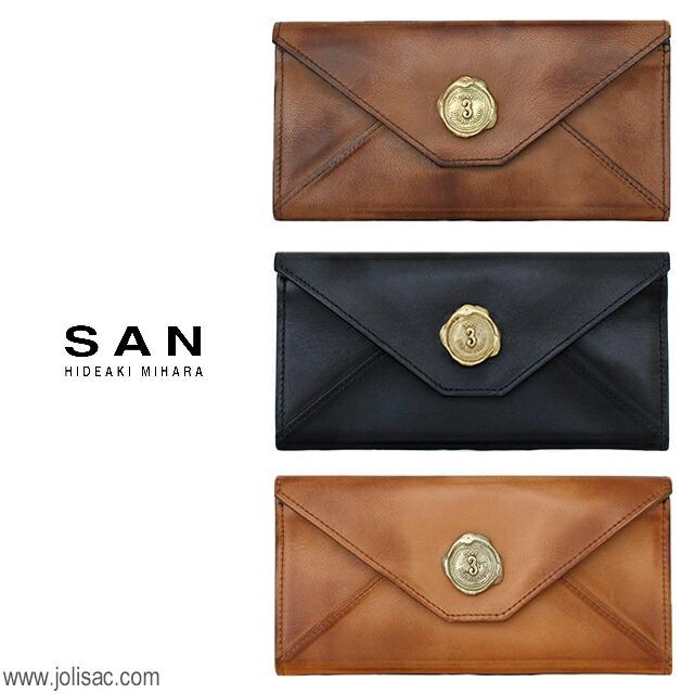 SAN HIDEAKI MIHARA 財布 イメージ
