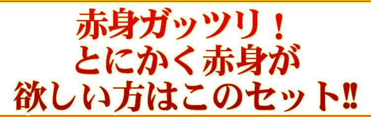 【情熱特撰】赤身4種盛