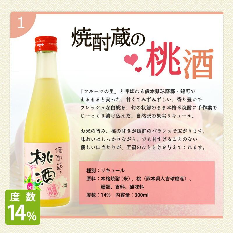焼酎蔵の桃酒