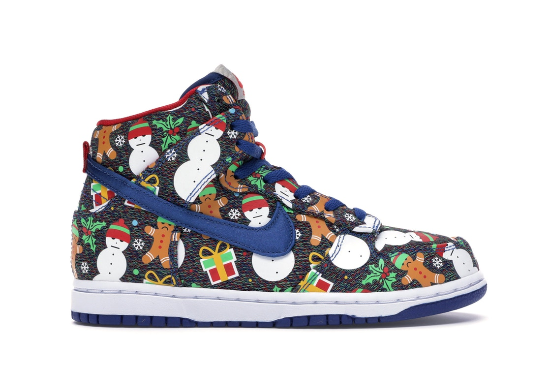 Concepts Nike SB Dunk High Ugly 'Christmas Sweater' 2017