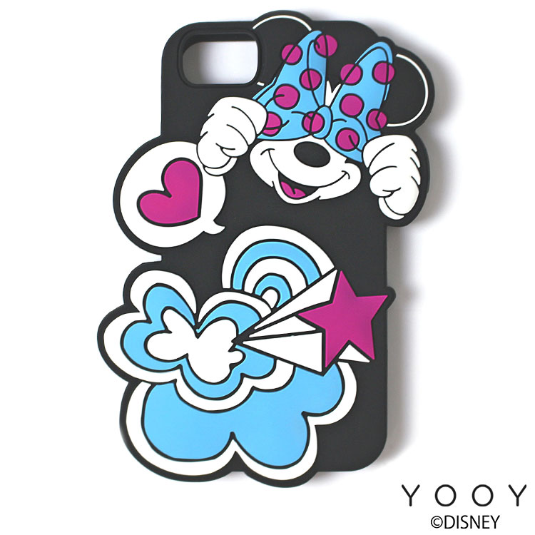 YOOY  SILICONE iPhone ケース ミニーマウス