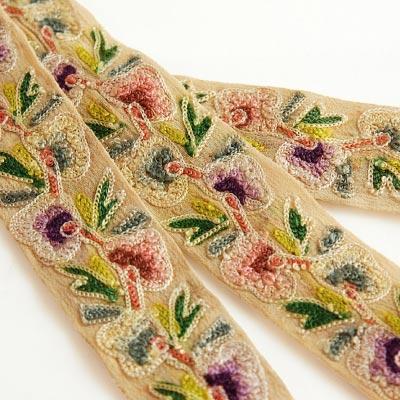 EmbroideryRibbonヴィンテージ刺繍リボン