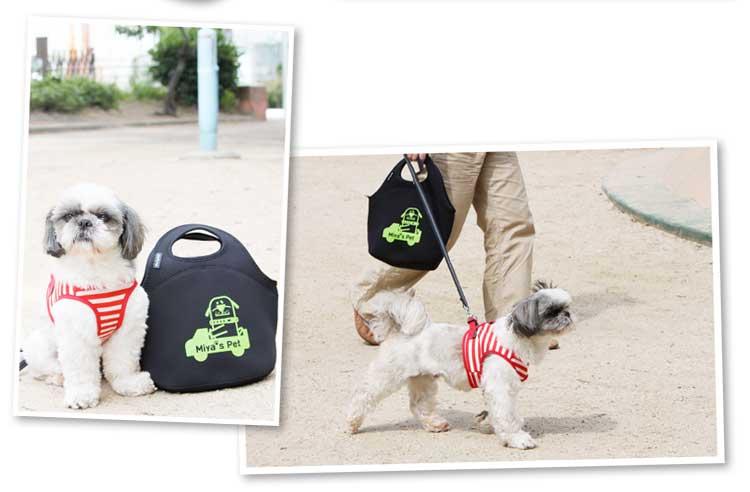 ウェットスーツの素材で作ったバッグ/ラバーフィットバッグ