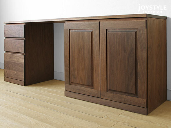 Finished Desk With Plenty Of Texture Feel A Heavy Walnut Natural Wood Grain  And Elegant Shades.