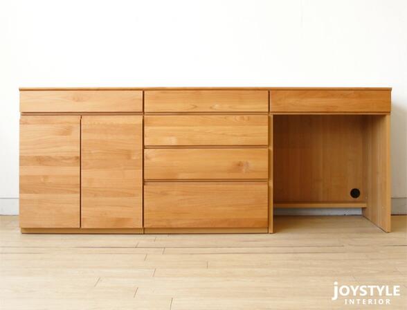 Joystyle Interior Rakuten Global Market Width  Cm And Alder Alder Solid Wood Wooden Desk Study Desk Computer Desk Cabinet Drawer Combination Unit Unit