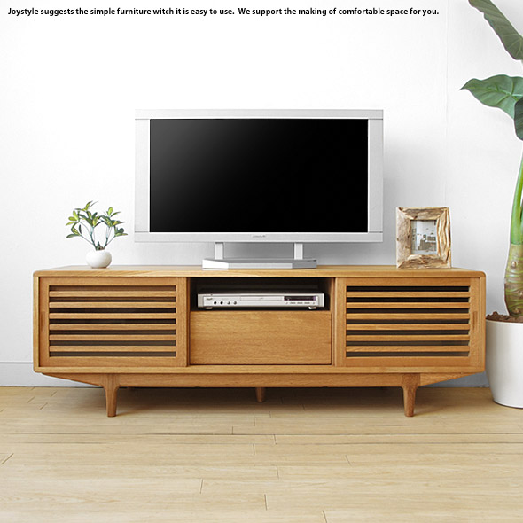 joystyle-interior  Rakuten Global Market Oak solid wood low
