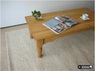 パイン無垢材リビングテーブル