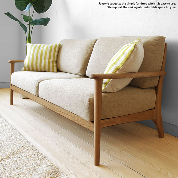 Joystyle Interior Rakuten Global Market 3 Wooden Sofa