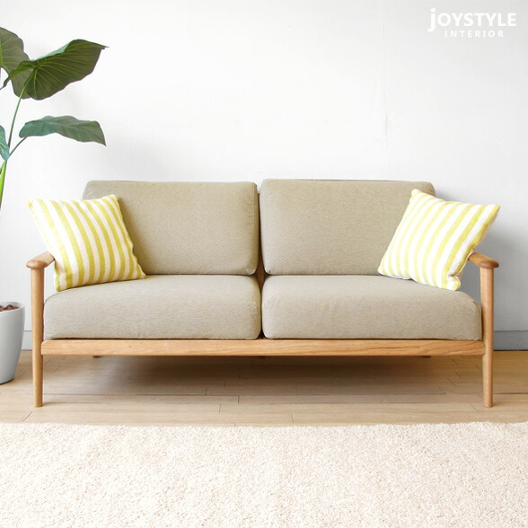 Joystyle Interior 3 Wooden Sofa 3p Sofa Credit Sofa