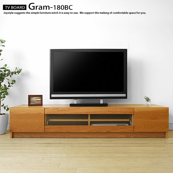 joystyle interior rakuten global market tv board low board gram 180bc net shop limited. Black Bedroom Furniture Sets. Home Design Ideas