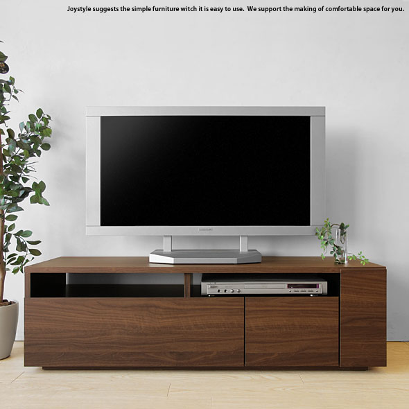 joystyle interior rakuten global market width 120 cm walnut color harmony modern taste wood. Black Bedroom Furniture Sets. Home Design Ideas