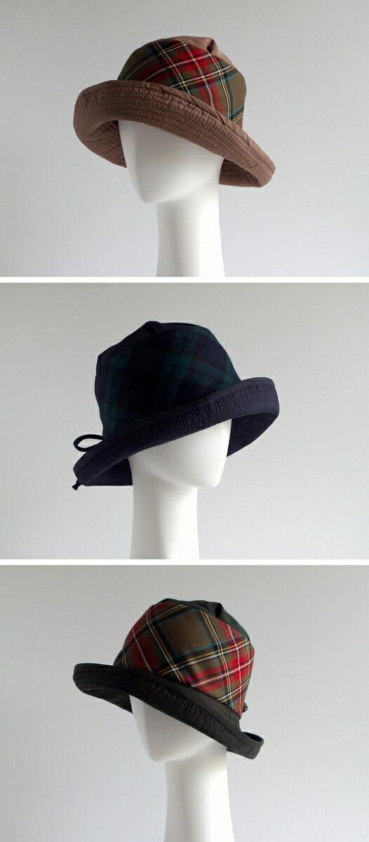8ab3b49c224e9 ... カラーバリエーション豊富にかわいいデザインでヨーロッパをはじめ世界中に愛される人気帽子ブランドです。 greviのチェックのレインハットです。