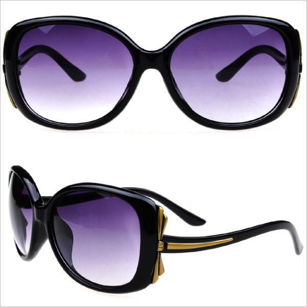 サングラス レディース デザイナーズ ファッションサングラス 偏光 UVプロテクト カラー:ブラック アイウエアー メガネ 今だけ!送料無料 通常納期2週間~