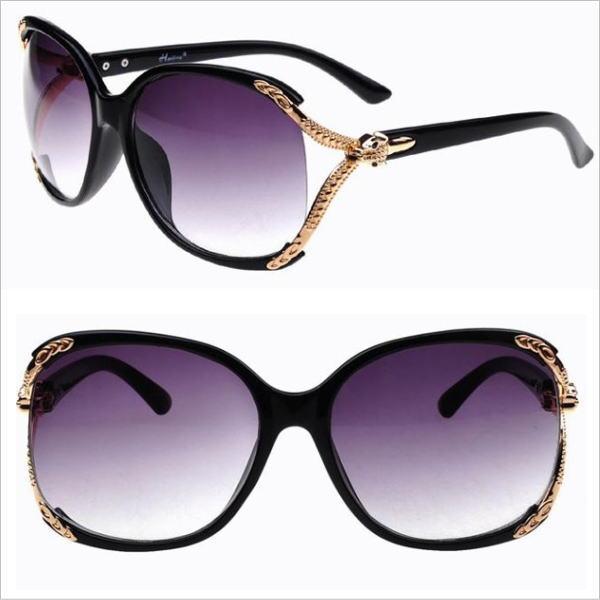 サングラス レディース イタリアンデザイン ファッションサングラス UV400 フォトクロミックレンズ カラー:ブラック アイウエアー メガネ 今だけ!送料無料 通常納期2週間~