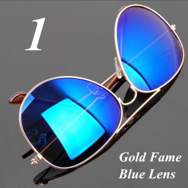 サングラス アビエイター デザイナーズ ファッションサングラス UV400 カラー:ゴールドフレーム/ブルーレンズ アイウエアー メガネ 今だけ!送料無料 【在庫限品】即納です。