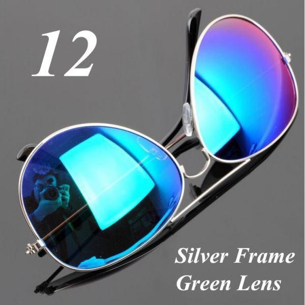サングラス アビエイター デザイナーズ ファッションサングラス UV400 カラー:シルバーフレーム/グリーンレンズ アイウエアー メガネ 今だけ!送料無料 【在庫限品】即納です。