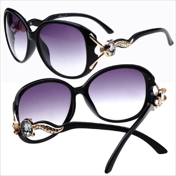 サングラス レディース デザイナーズ ファッションサングラス カラー001:ブラック グラデーション メガネ 今だけ!送料無料 通常納期2週間~