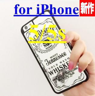 iphone5/5s シルバーミラー ジャックダニエルスマホカバー iphone5カバーケース iphone5用スマホケース シルバーミラー メール便で送料無料