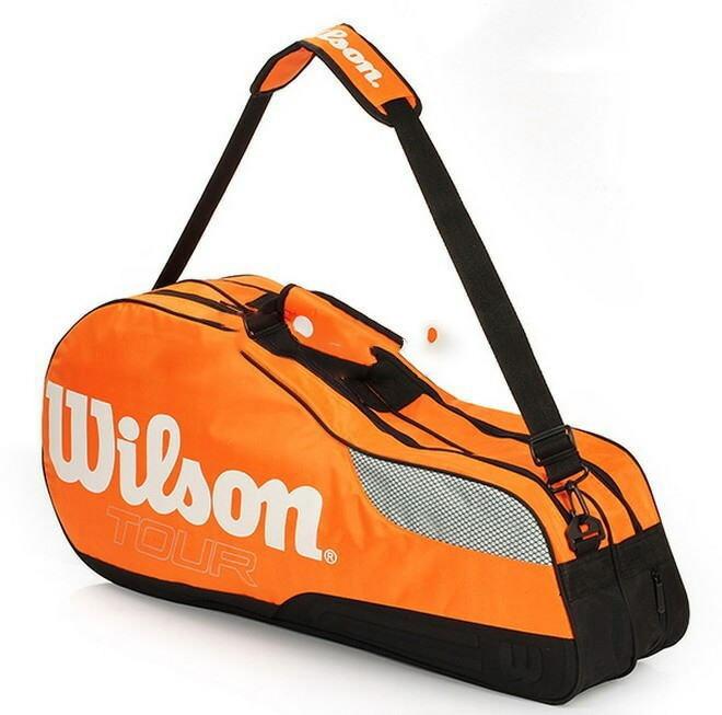 Wilson/ウィルソン テニスラケット ショルダーバッグ 【送料無料】【輸入取寄品】納期2週間~