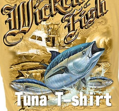 マグロTシャツ ツナTシャツ 半袖Tシャツ 本場米国直輸入品 TUNA デザインTシャツ メンズTシャツ。