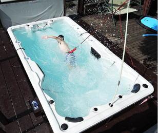 アクアジェットプール【アクアジェット】【本格派向け】 【海外発送品】【日本仕様】家庭用ガーデンプール