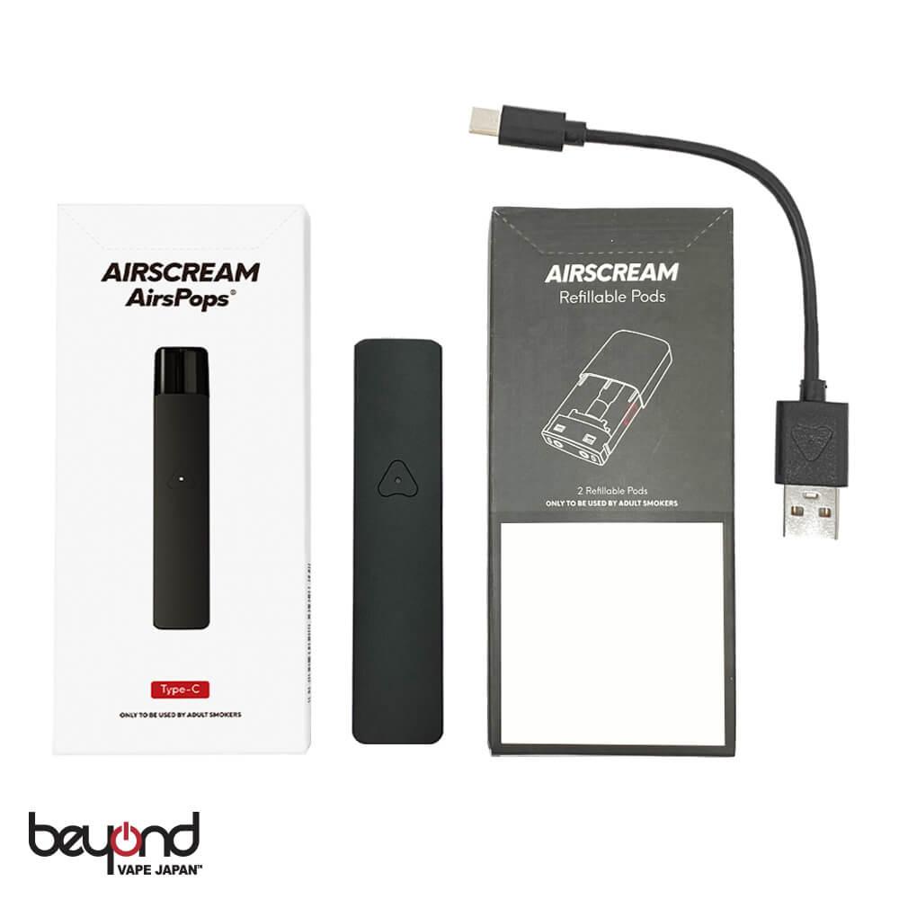 【AIRSCREAM】AirsPops Battery  Pod Set