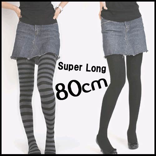 5fe9aed93 Knee high socks-ups celeb thigh high socks long socks casual socks long  socks sock women's simple plain border black overknee socks super long grey  knee ...