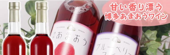 立花ワイン あまおうワイン ブルーベリーワイン セット