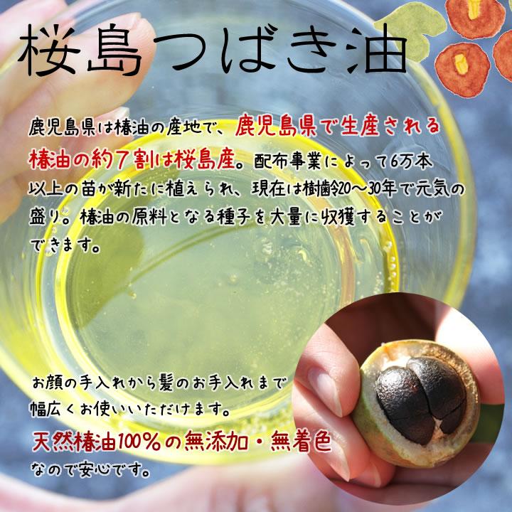 桜島ミュージアム 椿油