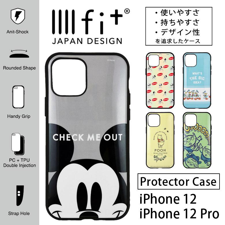 ディズニー ミッキー IIIIfit イーフィット ケース iPhone12 iPhone 12 Pto