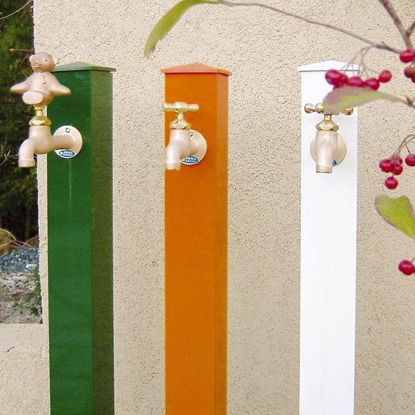 カラーアルミ立水栓