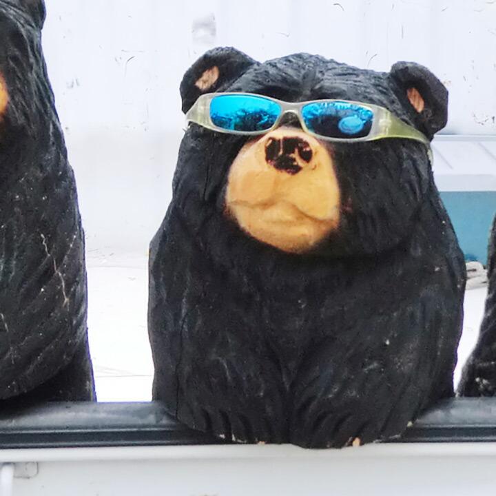 GONTAKU連 熊 チェーンソーアート
