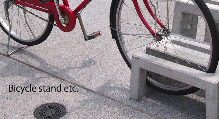 楽天市場エクステリアの装飾アクセサリー 自転車置き場