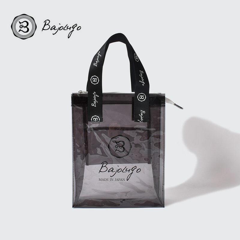 BajoLugo バジョルゴ PVCバッグ ブラッククリア