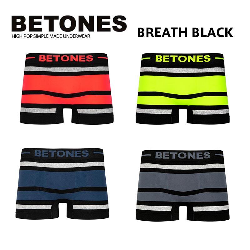 BETONES ビトーンズ BREATH BLACK