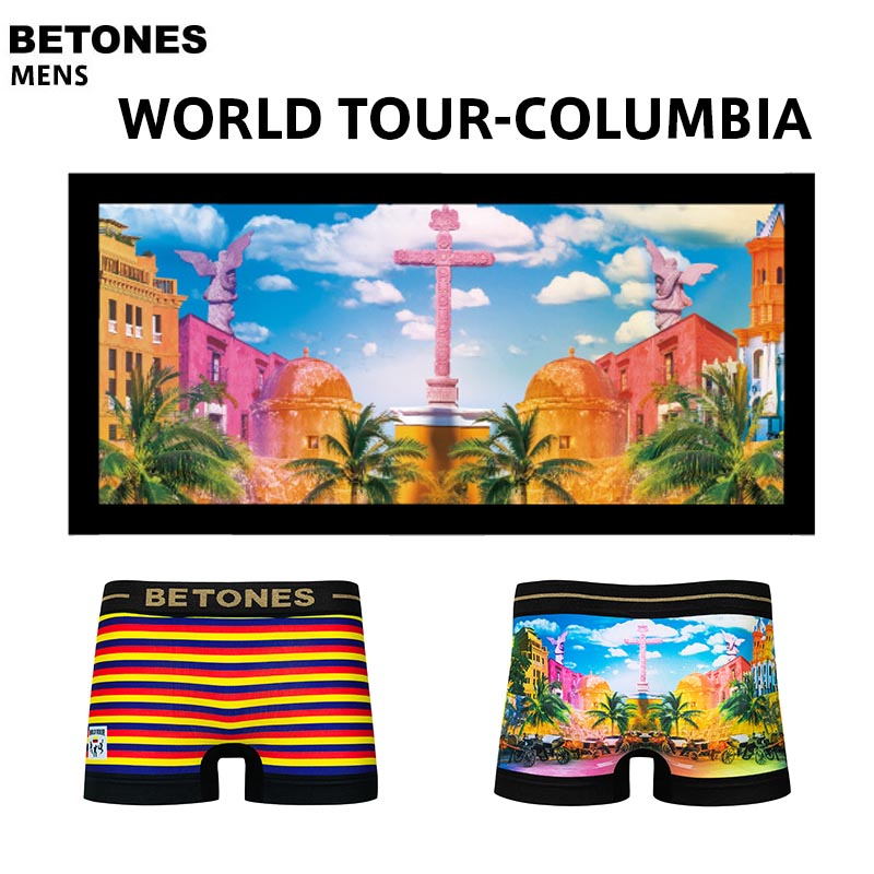 BETONES ビトーンズ WORLD TOUR 2019 COLUMBIA