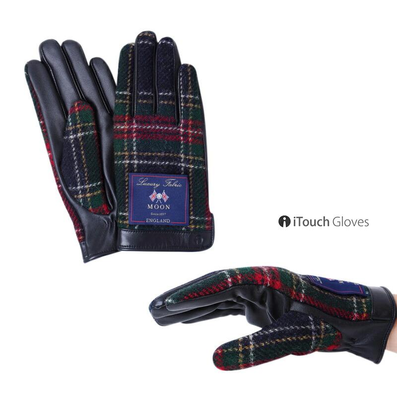 iTouch Gloves MOON イギリス 本革 手袋