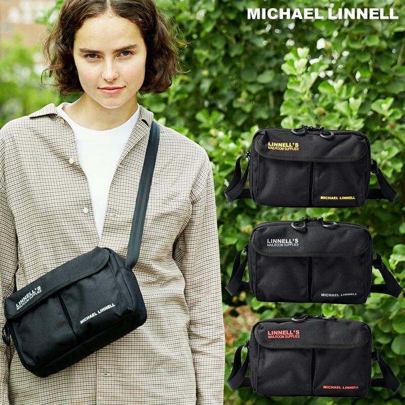 MICHAEL LINNELL マイケルリンネル 2Pocket Mini Shoulder MLCD-500