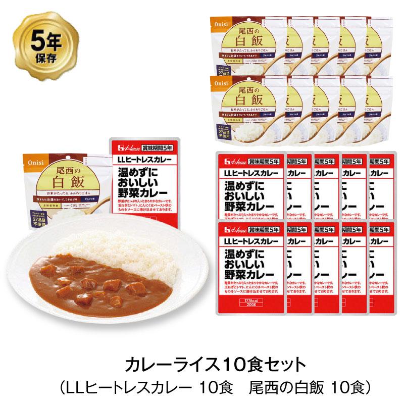 カレーライス 10食セット