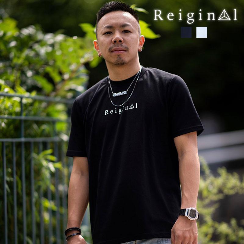 REIGINAL レイジナル ストレッチ ロゴ 半袖 Tシャツ