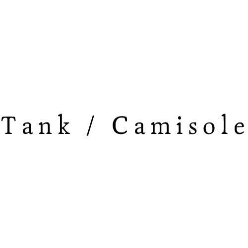 タンクトップ・キャミソール