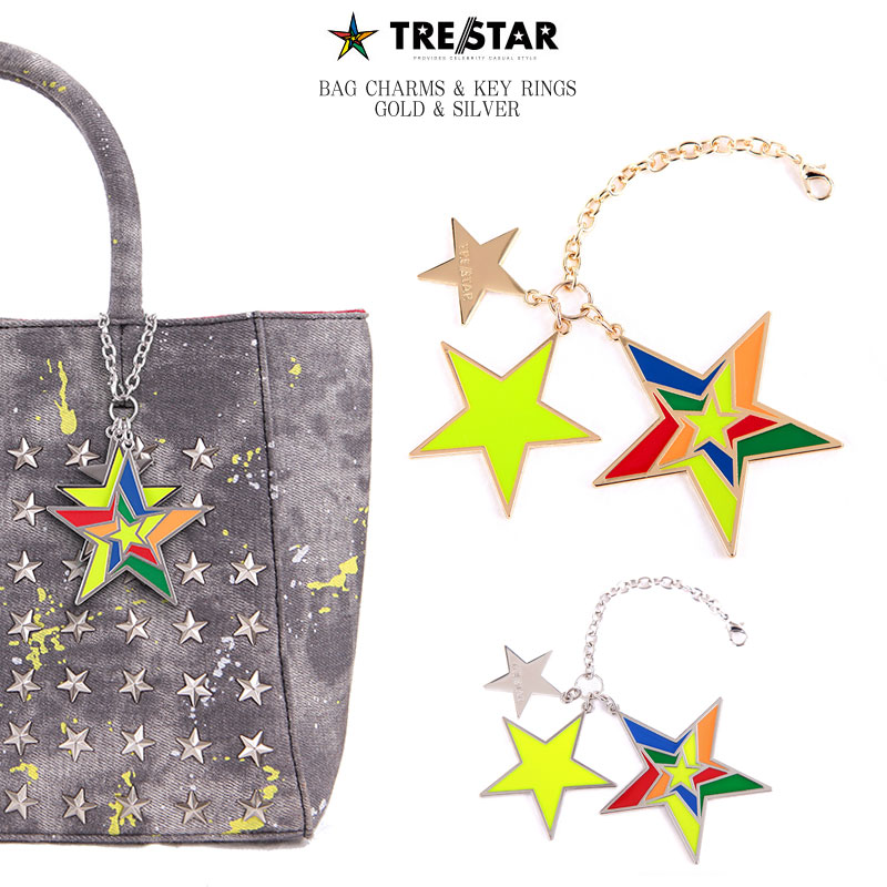 TRE☆STAR トレスター BAG CHARMS & KEY RINGS