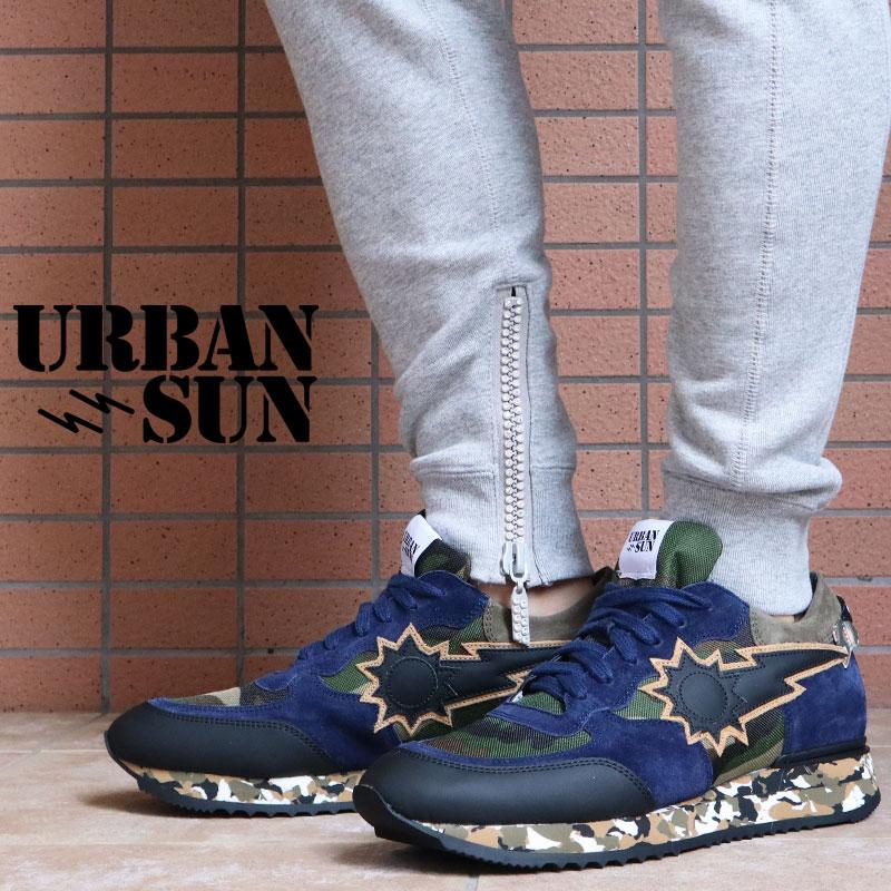 URBAN SUN アーバンサン スニーカー jean-ja-031