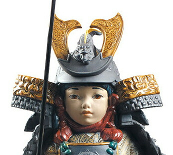 一番槍 若武者 WARRIOR BOY 【リヤドロ LLADRO】