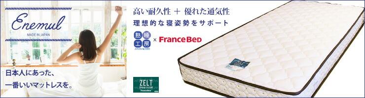 フランスベッドZT-020マットレス エネムル
