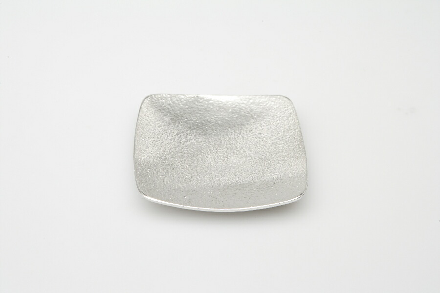 能作 小皿 −  四角 501060 錫100%