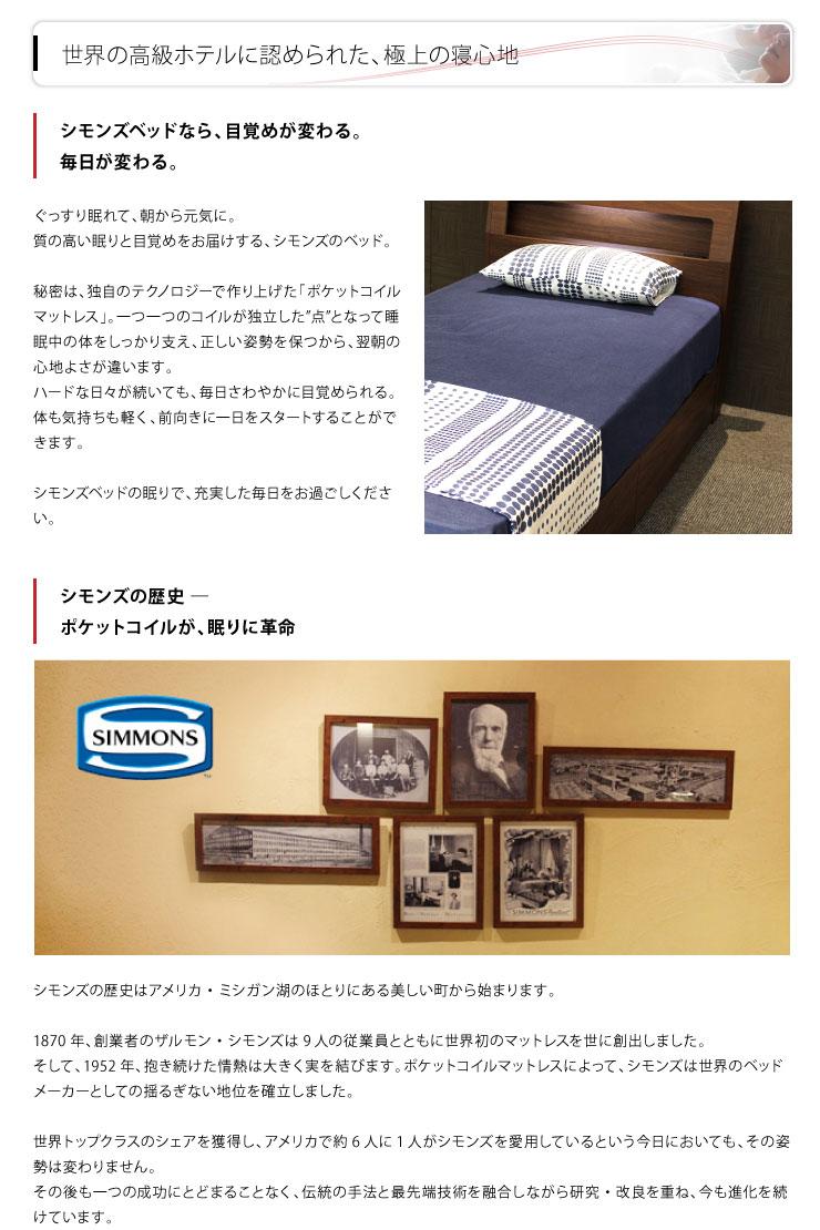 シモンズの歴史