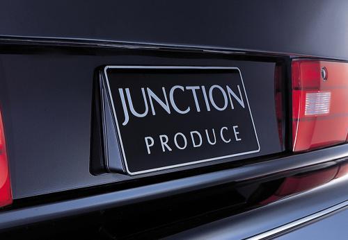 ジャンクションプロデュース JUNCTION PRODUCE 角度付ナンバープレートベース パーツ 車