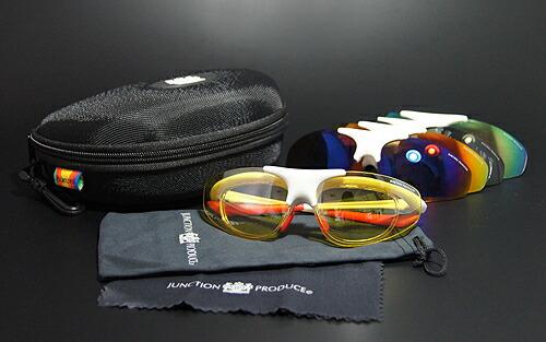 ジャンクションプロデュース JUNCTION PRODUCE サングラス スポーツサングラス メンズ ゴーグル バイク ウォーキング 釣り 多機能 偏光グラス 楽天 通販